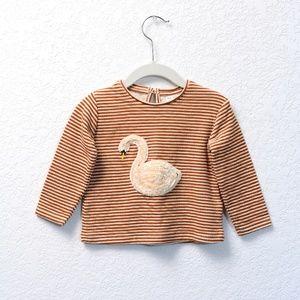 Zara Baby Girl Long Sleeve Sweater Top, 12-18 Mo.